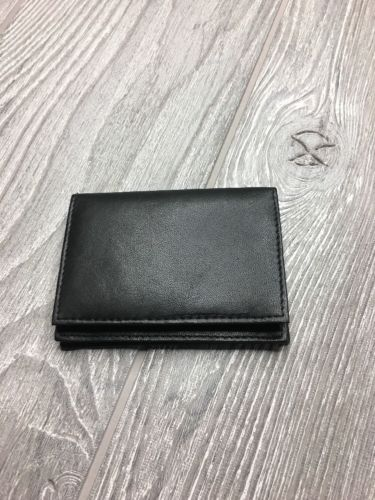 Marshal RFID Blocking Expandable Business Card Case Black