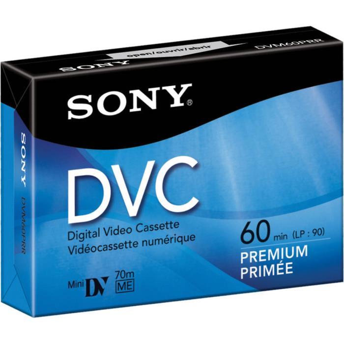 Lot of 2 Sony Premium MiniDV Camcorder Digital Video 60 min Tape DVM60PRR