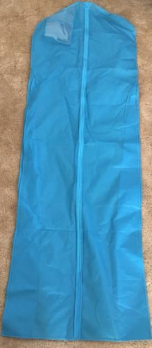 Teal Turquoise Wedding Dress Garment Bag Long