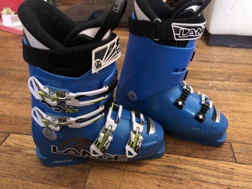 Lange JR Race Ski Boots Size 24.5