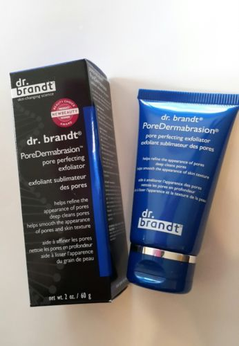 New Fresh Dr. Brandt Pore Dermabrasion Pore Perfecting Exfoliator Full Size NIB
