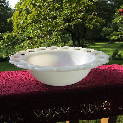 Vintage Open Heart Bowl 9 1/2