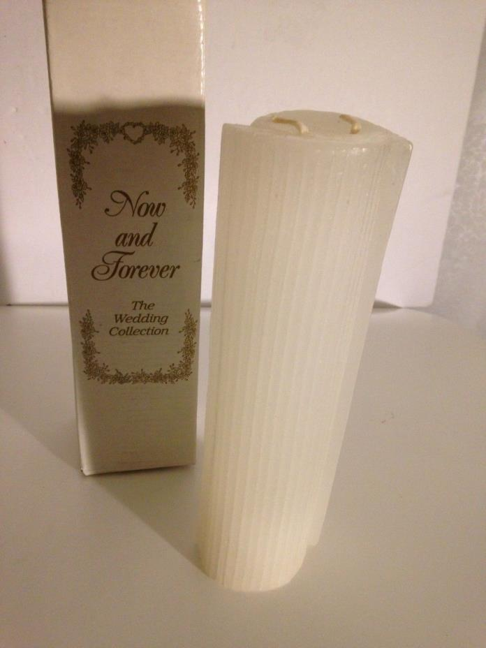 Wedding Unity Candle Now and Forever The Wedding Collection