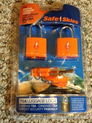 Safe Skies - TSA Luggage Locks