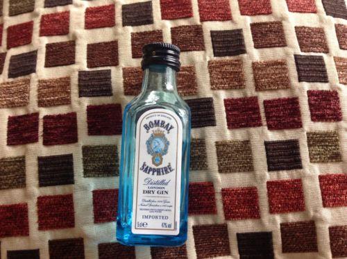 1 5cl BomBay Sapphire bottle  ( empty )