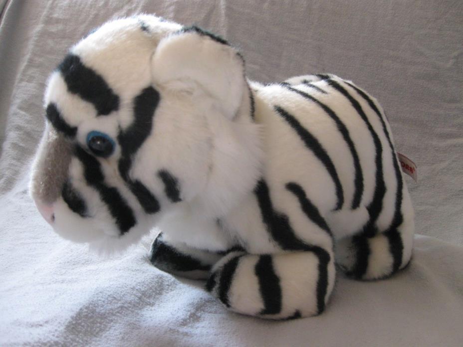 Aurora plush white tiger 11