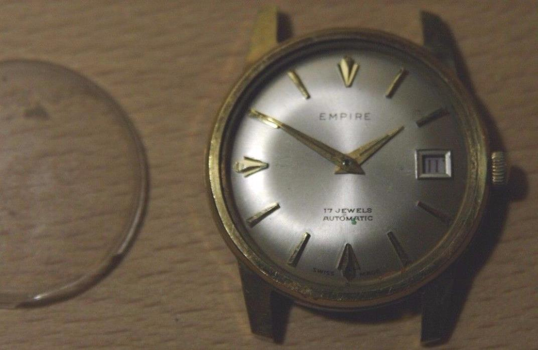 VINTAGE EMPIRE SWISS AUTOMATIC HARPER WATCH CO 17 JEWELS INCABLOC