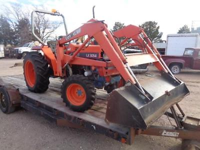 KIOTI 4 WHEEL DRIVE DIESEL TRACTOR LOADER 3 POINT HITCH PTO POWER SHIFT LOW HRS
