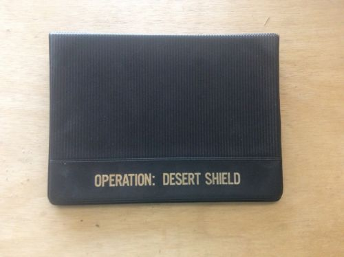 Operation Desert Shield APO 09616 Commemorating Operation 7 Covers+Binder
