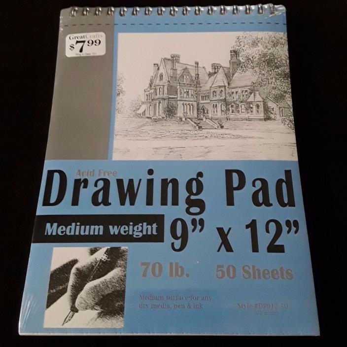 DRAWING PAD 9 X 12