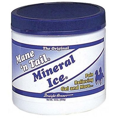 Mane 'n Tail Mineral Ice 1 Pound Equine Horse Muscle Joint Pain
