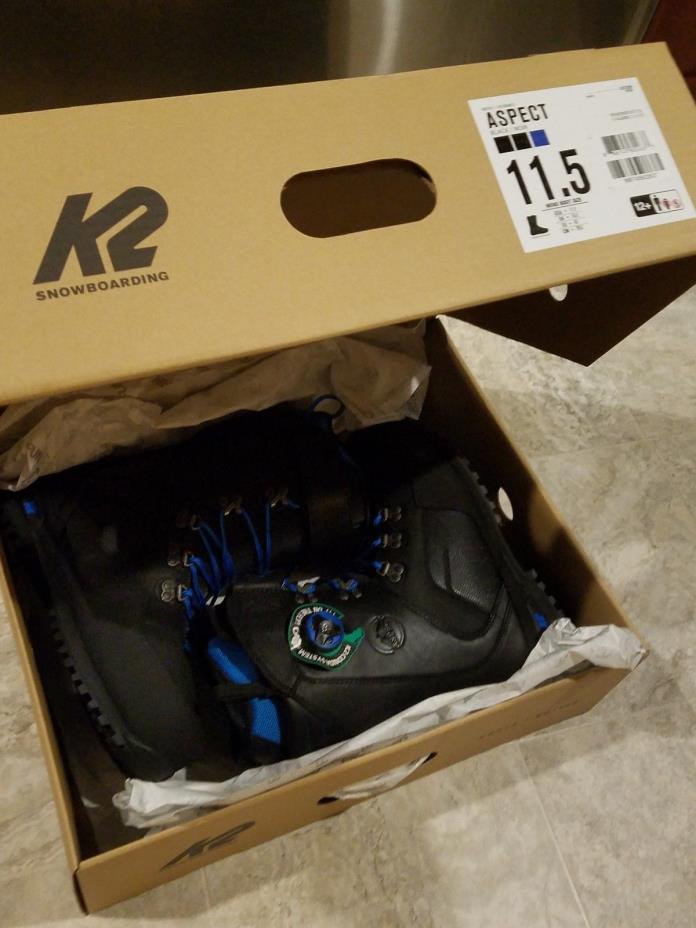 K2 Aspect Splitboarding / Snowboarding Boots - Men's Size 11.5 US / 45 Euro