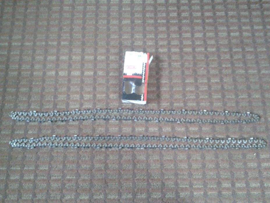 2-OREGON CHAIN'S CHAIN 3/8 050 72LGX 93 LINK 72LGX093G