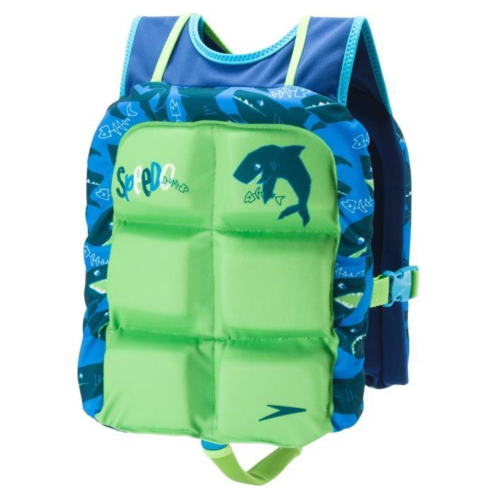 Speedo Boys Water Skeeter Lifevest - Lime Green51541330