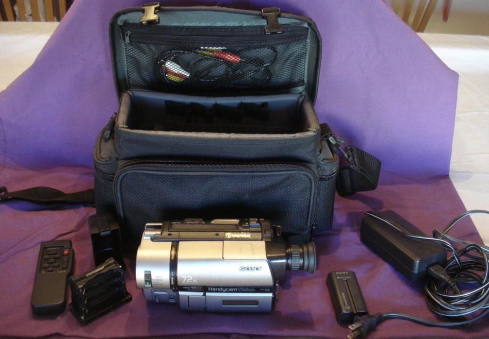 Sony Handycam Vision CCD-TRV65 Video8 HI8 Camcorder Player with Night Shot