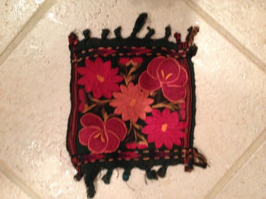 Guatemalan Embroidered Coasters