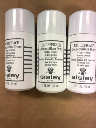 3x Sisley Gentle Makeup Remover 1oz/30ml Each Travel Size New