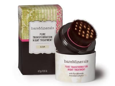 BareMinerals Pure Transformation Night Treatment (Clear) 4.2 g./0.15 oz.NIB