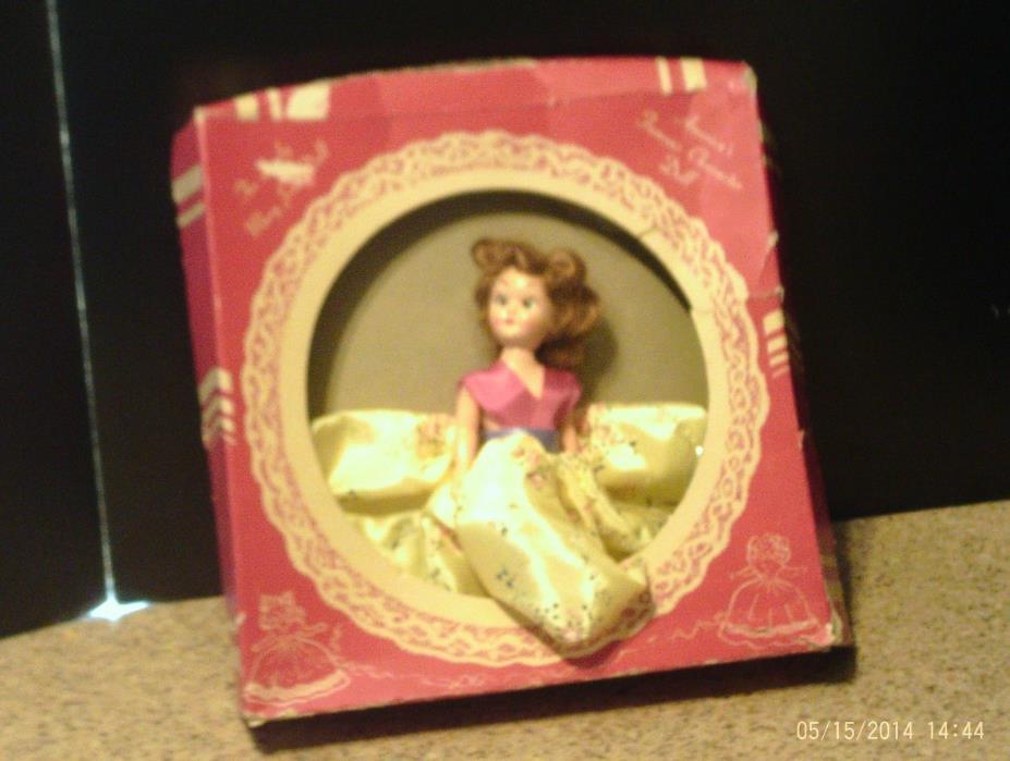 Vintage Unusual  Mary Jane  Doll 1950's?  Orig BOX 8