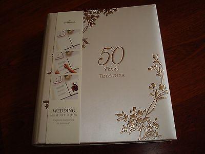 Hallmark Wedding Memory Book- 50 Years Together