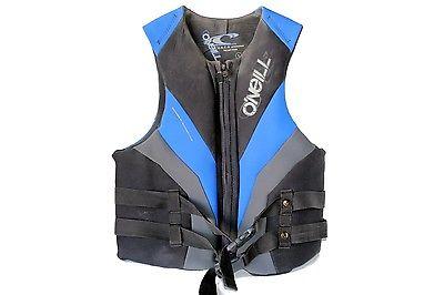 Oneill USCG Reactor Life Vest XL Black/Blue