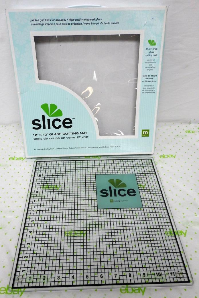 Slice 12 x 12 Glass Cutting Mat Making Memories