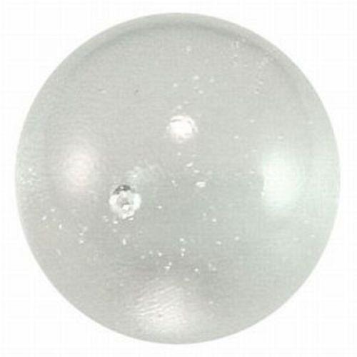 Mega Marble - Ice Clear ToeBreaker - Jumbo 2 Inch Glass Marble