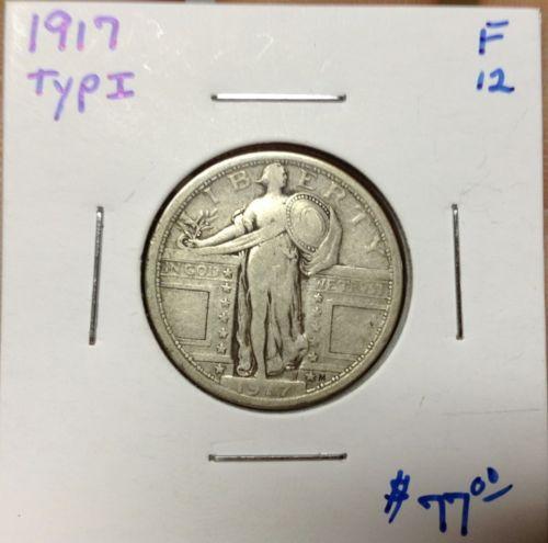 1917, Standing Liberty Quarter Type I