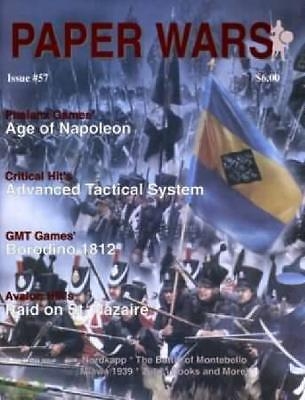 Issue 57 of Paper Wars Magazine (Omega games) New