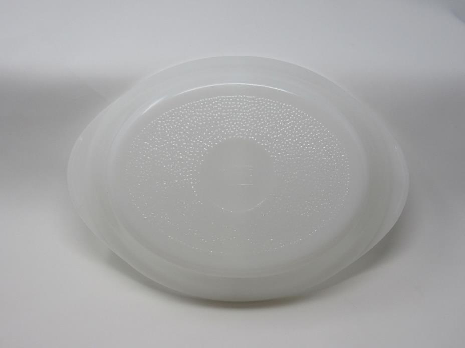 Glasbake Divided Casserole baking dish white milk glass