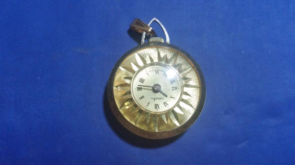 Vintage Topsall Pendant Watch Swiss Made