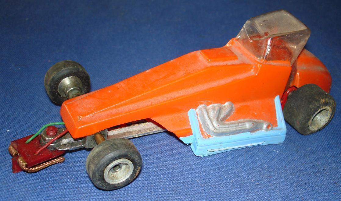 1:24 SCALE SLOT CAR RACING LEXAN BODY CUSTOMIZED SPRINT CAR THINGIE RTR RUNNER