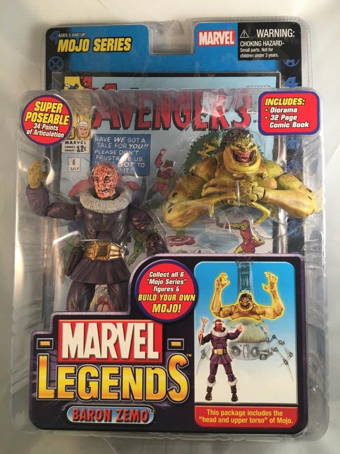 Marvel Legends Mojo Series Baron Zemo 2006 Variant