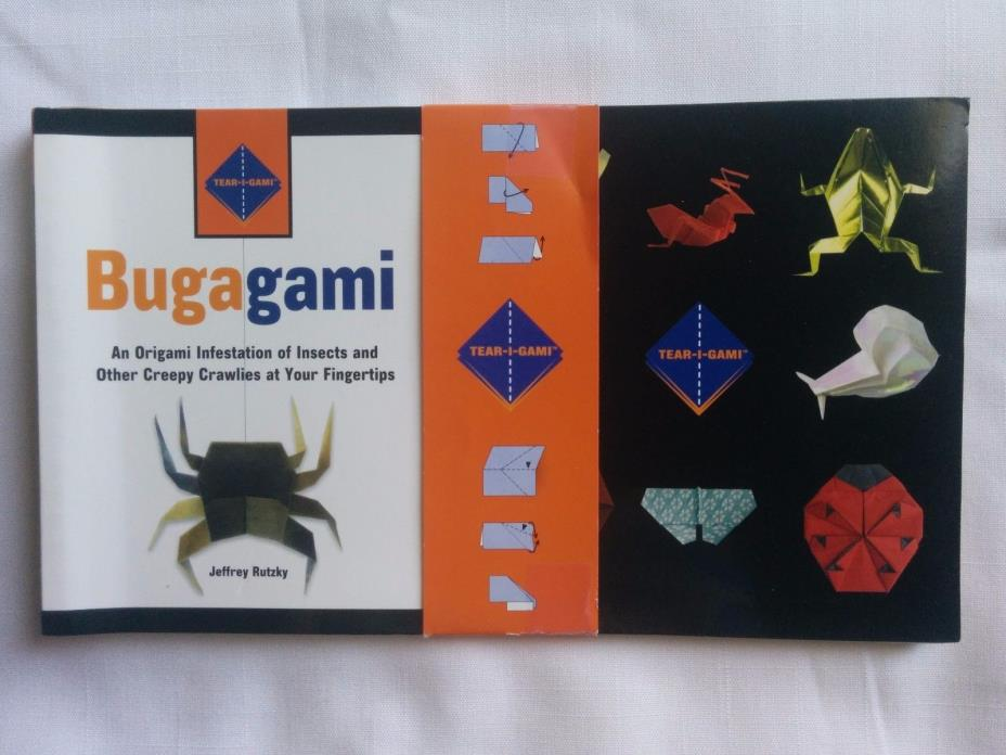 Bugagami: An Origami Infestation of Insects at Your Fingertips Tear-i-Gami Serie