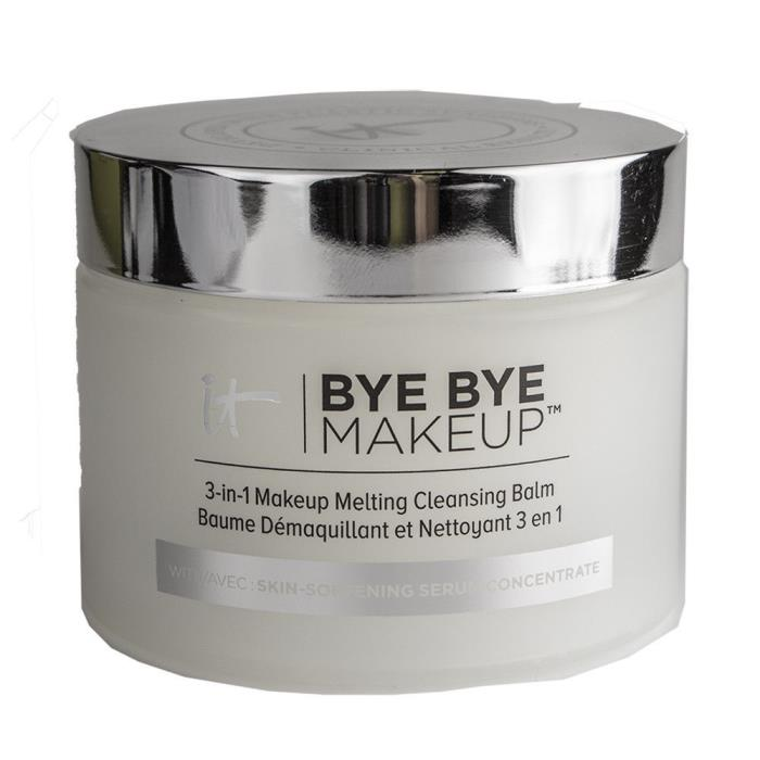 IT COSMETICS BYE BYE MAKEUP MELTING CLEANSING 3 IN 1 REMOVER BALM Lot of 5