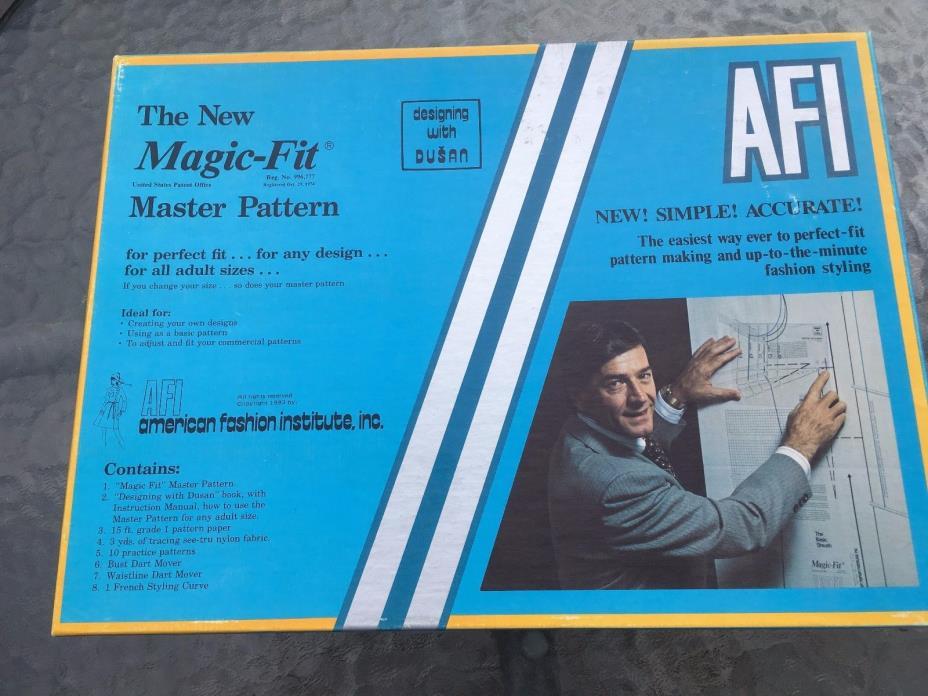 Vintage unused The New Magic Fit Master Pattern