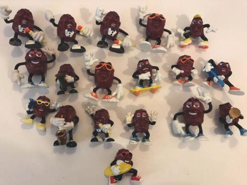 California Raisins Vintage Figurines Lot of 18