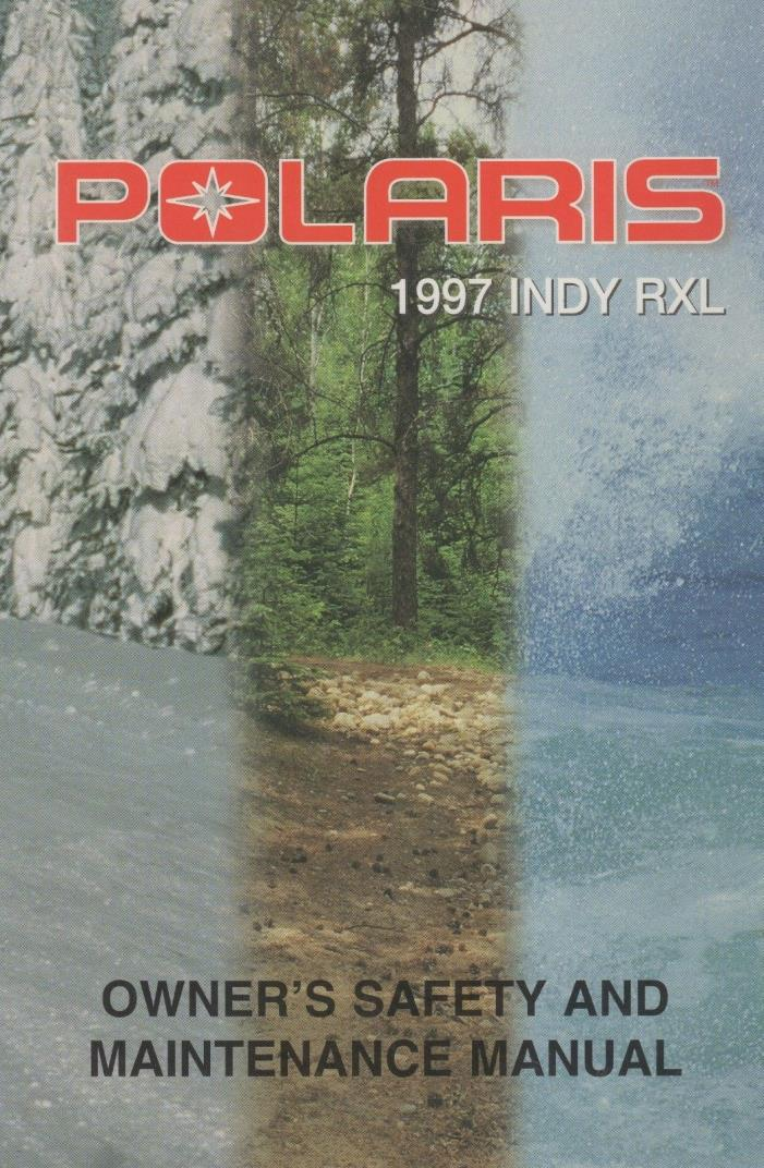 1991 polaris indy sport service manual pdf