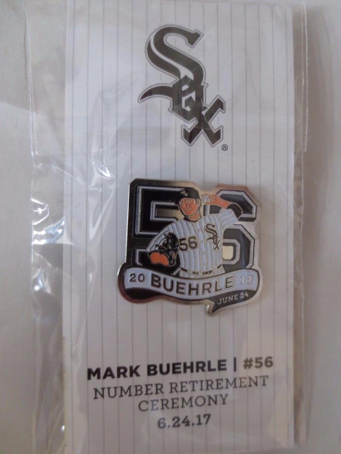 Chicago White Sox Mark Buehrle Commemorative Pin - MINT SGA 6/24/17 2017