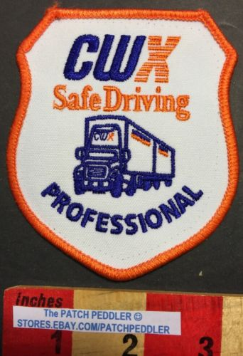 Semi Truck Patch CWX Trucking Safe Driving Professional Truckers. 57V