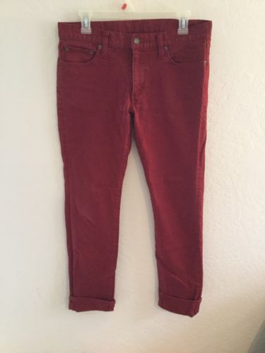 T-000 Red Skinny Jeans 32x32