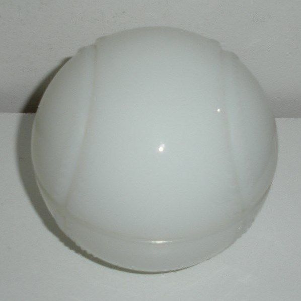 Milk Glass / Baseball Candy Dish