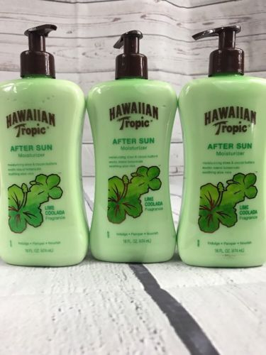 After Sun Lime Coolada Moisturizing Sun Care Lotion 16oz Pack of 3, New