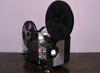 Sankyo Dualux 2000H STD 8mm / Super 8 MOVIE PROJECTOR ADJUST SPEED ~ SERVICED~