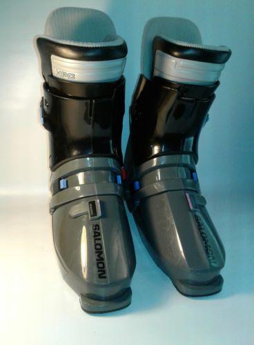 SALOMON SX 92 GRAY BLACK Pink SKI BOOTS 350 55