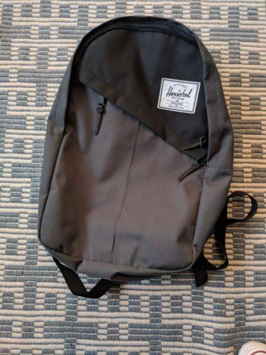herschel backpack grey