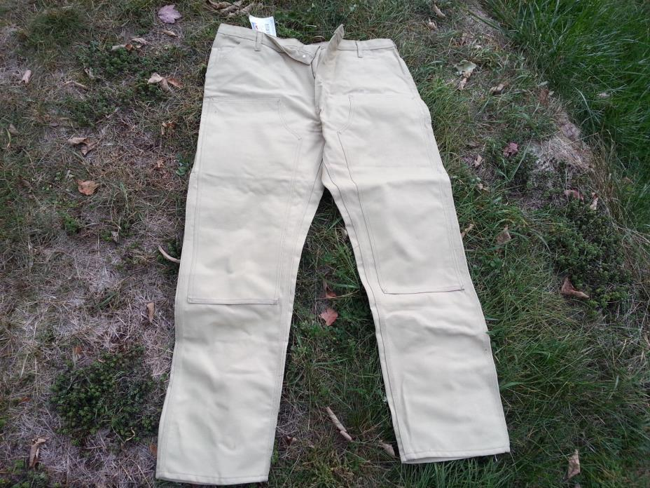 NWT-Men-Caboose-Heavy-Painter-Pants-w-Tool-Loop-Extra-Pockets-42x34 SHIP FREE