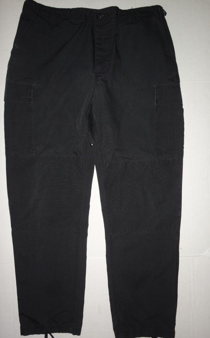 Galls Cargo Tactical Pants Uniform Mens Large Long 39 x 35 Black dst