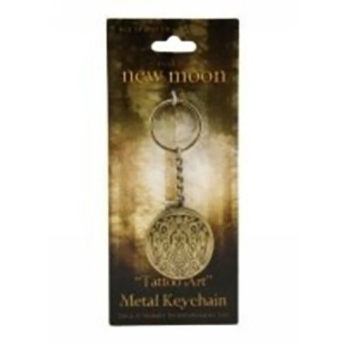 JACOB Wolf Quiluete Tribe Tattoo Art Key Chain Key Ring Twilight New Moon NECA
