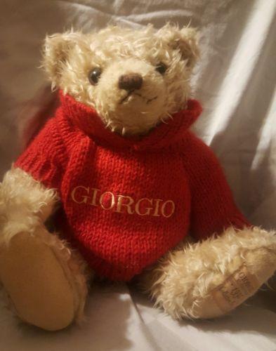Giorgio Beverly Hills Teddy Bear plush 13